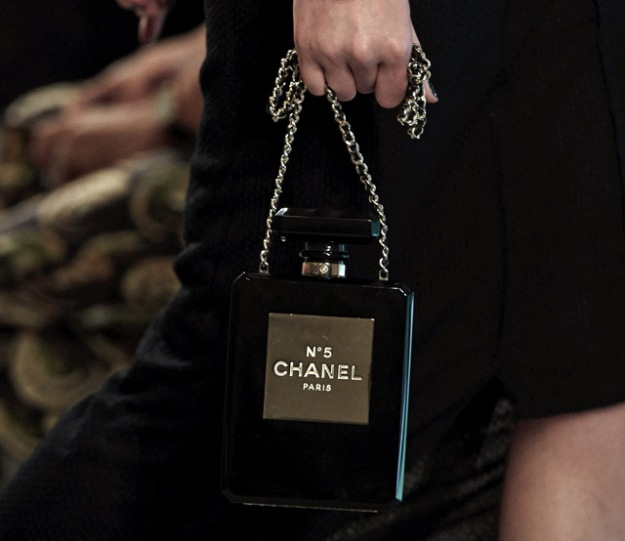 Chanel No 5 Perfume Bottle Clutch