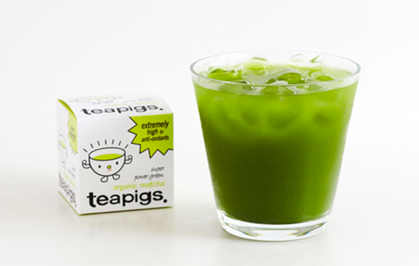 tea pigs organic matcha apple juice