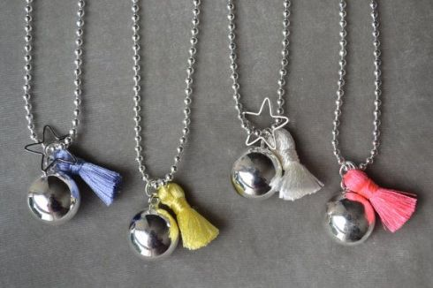 pregnancy chime necklace
